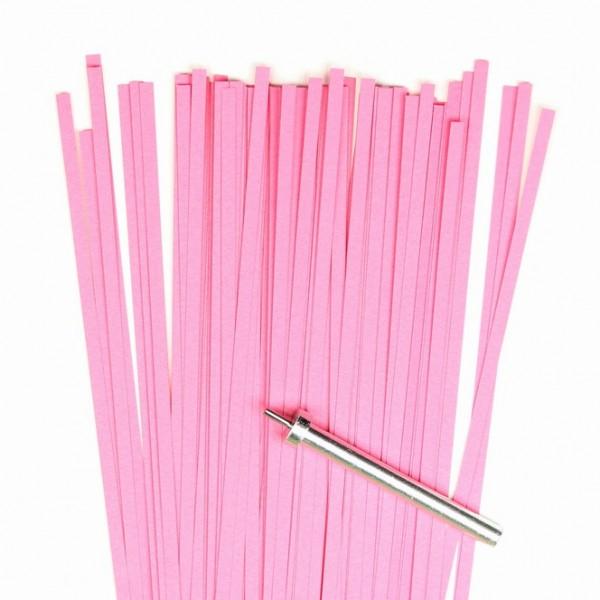 Quilling Papierstreifen, 3mm x 450mm, pink