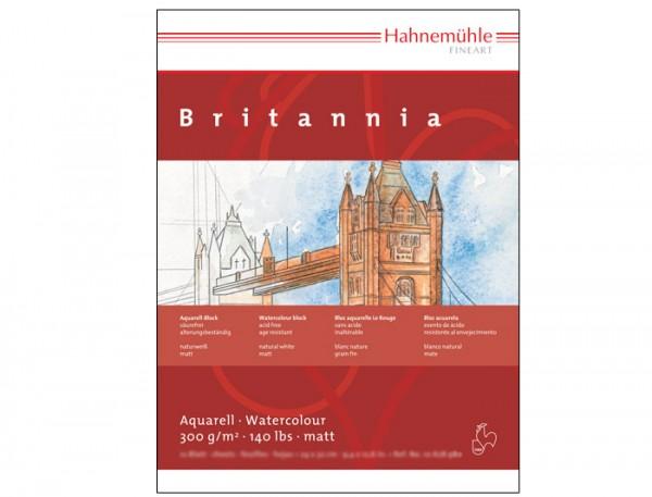 Aquarellkarton Britannia, 36x48cm, 12 Blatt, 300 g/m² - matt