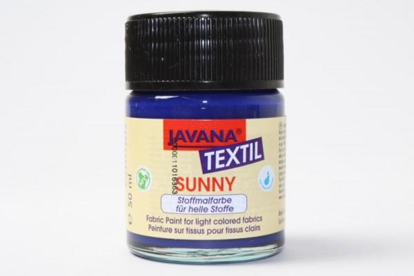 JAVANA TEXTIL SUNNY, für helle Stoffe, 50 ml, Royalblau