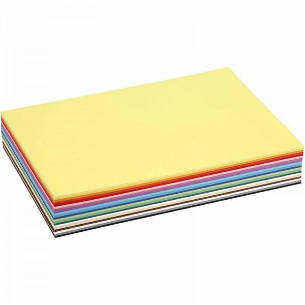 A4 tannengrün,100 Blatt Bastelkarton 220g//m²
