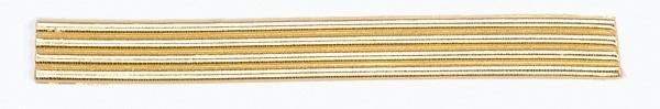 Wachsrundstreifen, 3mm, 20cm, 7 Stk., gold