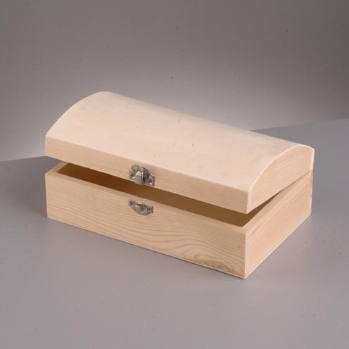 Holztruhe, 19x11x7,5 cm