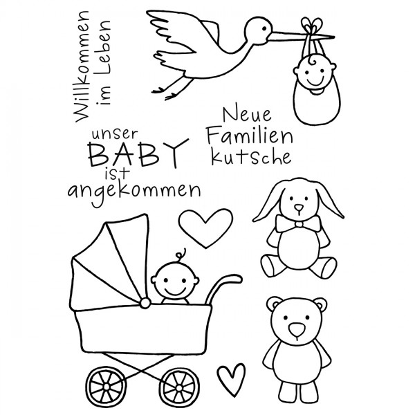 Clear Stamps - Baby