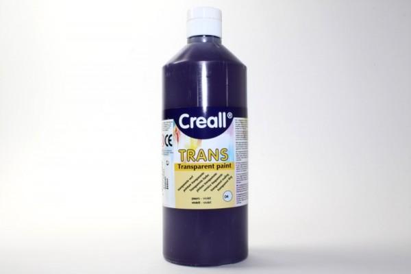 Creall-trans, transparente Farbe, 500 ml, violett