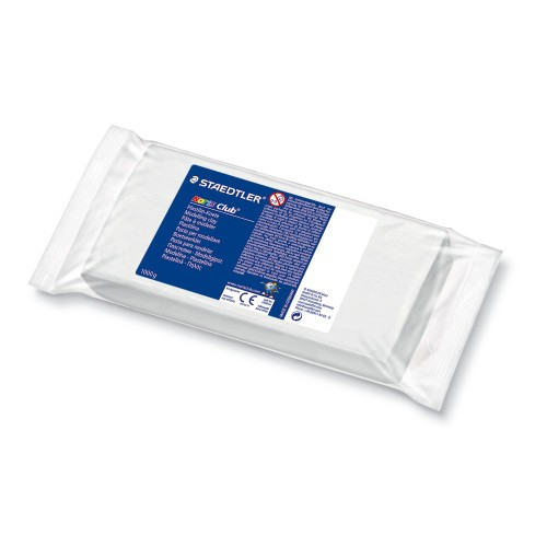STAEDTLER® NORIS Club® Plastilin Knete, 1000 g, weiß