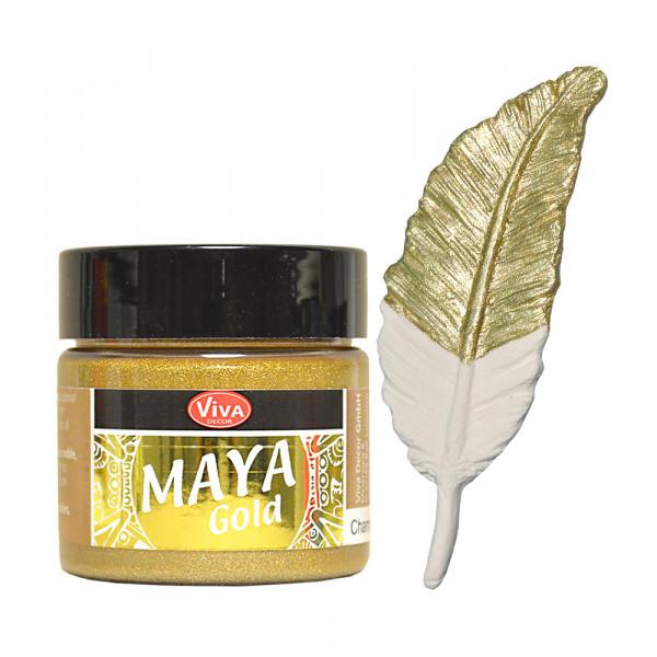 Viva Decor Maya Gold, 45 ml, Champagner