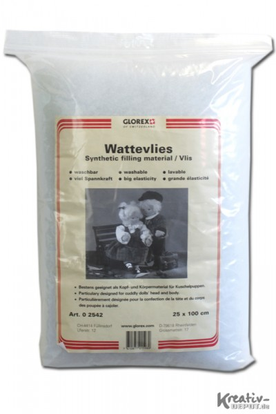 Wattevlies, 25 x 100 cm