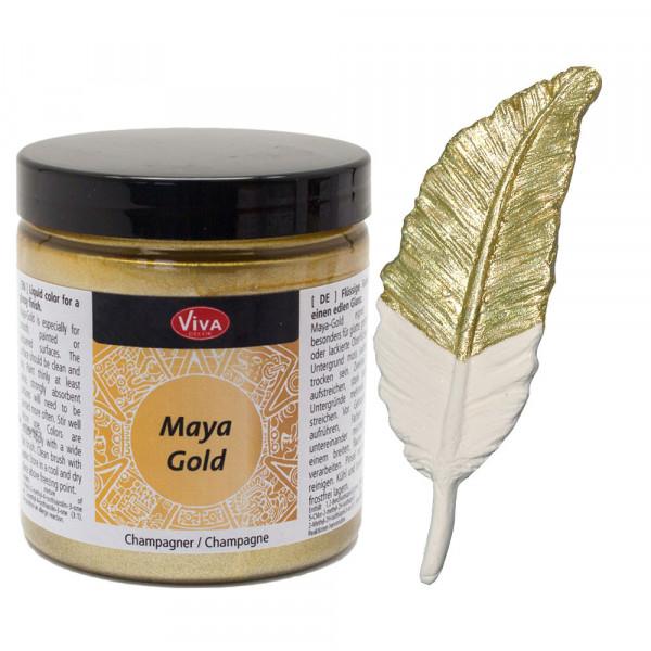 Viva Decor Maya-Gold, 250 ml, Champagner