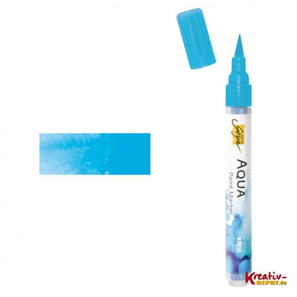 Aqua Paint Marker - Cyan