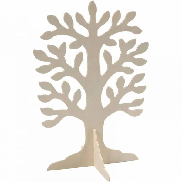 baum aus sperrholz ca 30x21 5 cm 2 mm kreativ depot. Black Bedroom Furniture Sets. Home Design Ideas