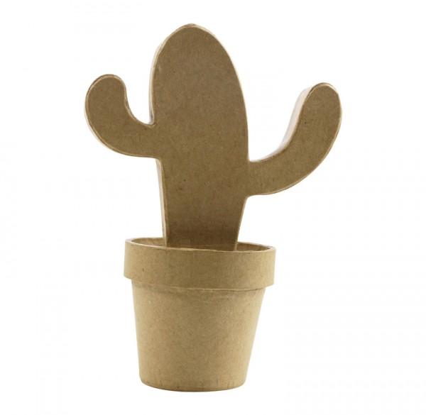 Mexikokaktus aus Pappmachè, 14x9x19cm
