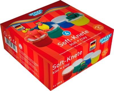 Soft Knete, 4er Packung