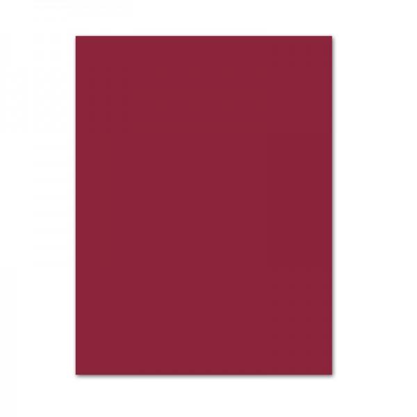 Tonpapier, 10er Pack, 130 g/m², 50x70 cm, dunkelrot