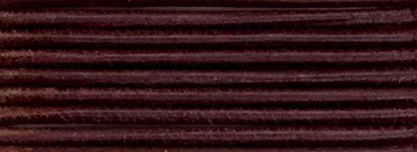 Lederriemen, 3 mm Ø - 1 m, Rindsleder, dkl.braun