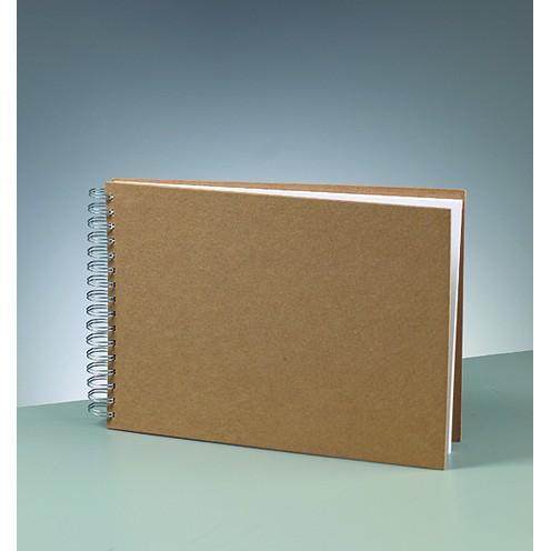 Sammelalbum, aus Pappmachè, DIN A4