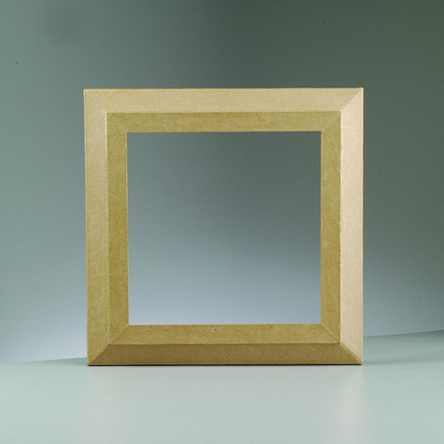 Bilderrahmen, aus Pappmachè, 29 x 29 cm / 20 x 20 cm