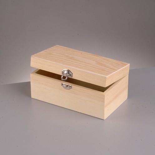 Holzkiste, 13 x 5 x 6 cm