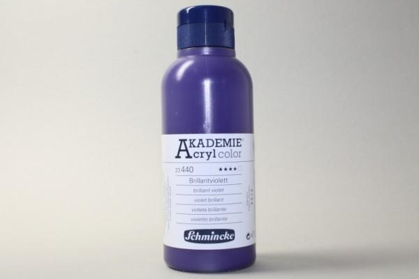 AKADEMIE® Acryl color, 250 ml, Brillantviolett