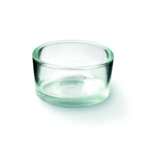 Teelichtglas, ca. 4 x 1,9 cm