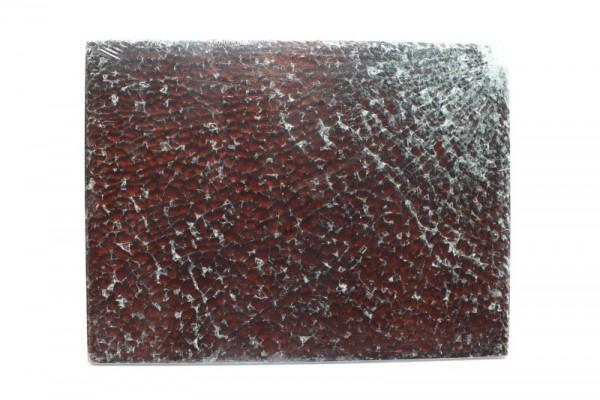 Crackle Mosaik-Platte, 15 x 20 cm, 4 mm, topas