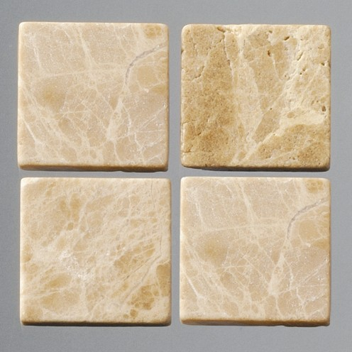 Efco Mosaik Echtstein pur, 20 x 20 mm, hellbraun