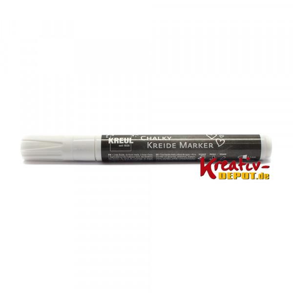 Chalky Kreide Marker - Snow White