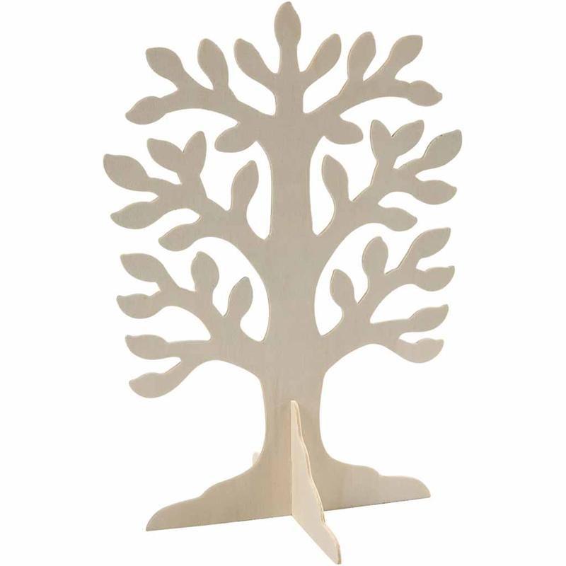 Baum aus sperrholz ca 30x21 5 cm 2 mm kreativ depot for Bastelanleitung baum aus papier