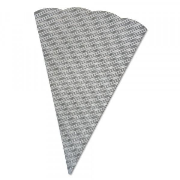 Schultüten Rohling W-Welle, 20 x 68 cm, Grau