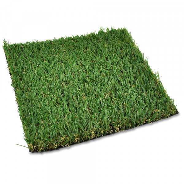 Grasplatte 25 x 25 x 1 cm / Kunstrasen