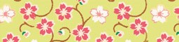 Washi-Tape, 15mm x 10m - Blütenranke grün