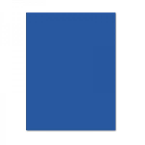 Bastelkarton, 10er Pack, 220 g/m², 50x70 cm, königsblau