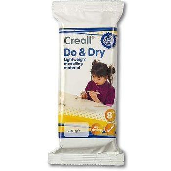 Creall-do & dry LIGHT, leichte lufthärtende Modelliermasse, 250g
