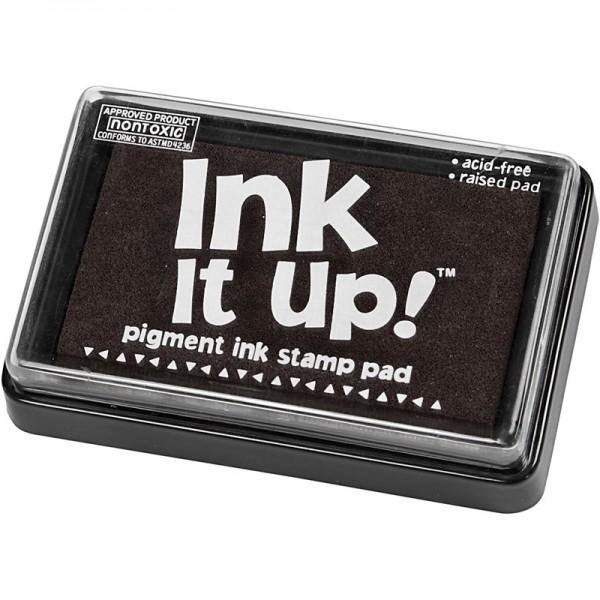 Ink it up! Stempeklissen, 6,3 x 9,5 cm, schwarz