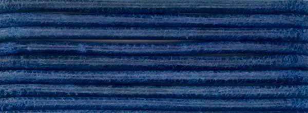 Lederriemen, 2 mm Ø - 1 m, Rindsleder, königsblau