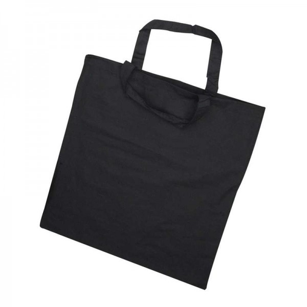 Baumwoll-Einkaufstasche,38x42cm, schwarz