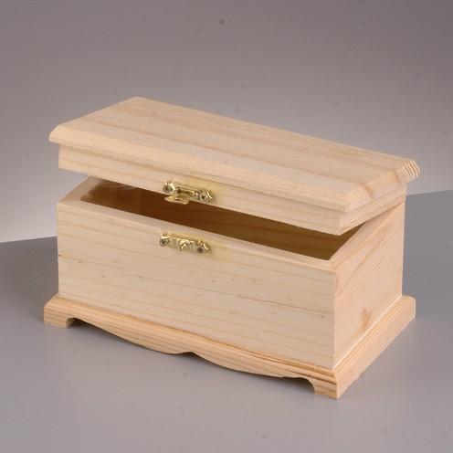 Holztruhe, 16x9x8,5 cm