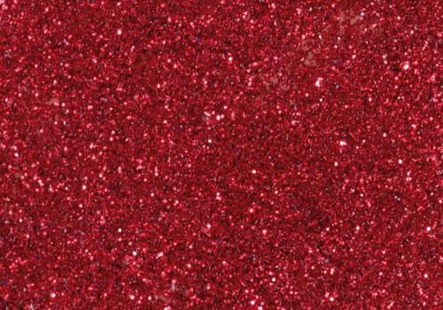 Glitter Glue, 50 ml rot