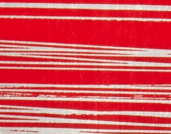 Verzierwachsplatten, silber gestreift, 10 St., pink