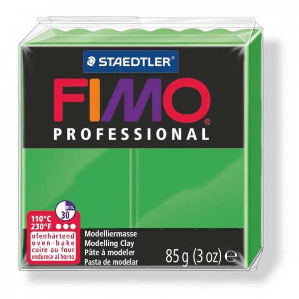 FIMO professional, Modelliermasse, 85 g, grün