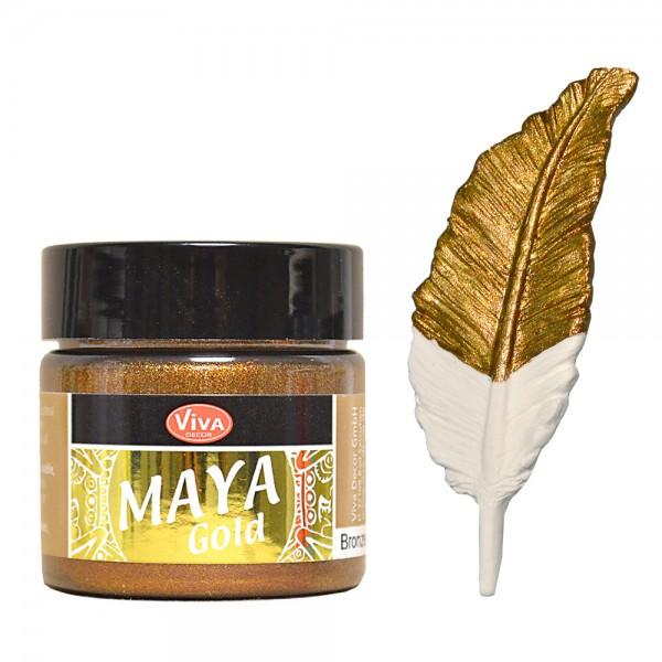Viva Decor Maya-Gold, 45 ml, Bronze