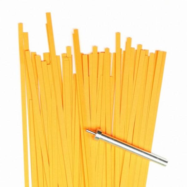 Quilling Papierstreifen 3mm X 450mm Orange Kreativ Depot