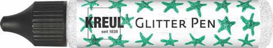 KREUL Glitter Pen, 29 ml,, Silber