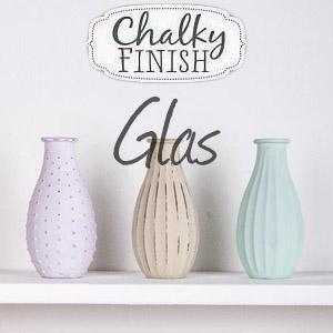 chalky finish - kreidefarbe-fuer-glas