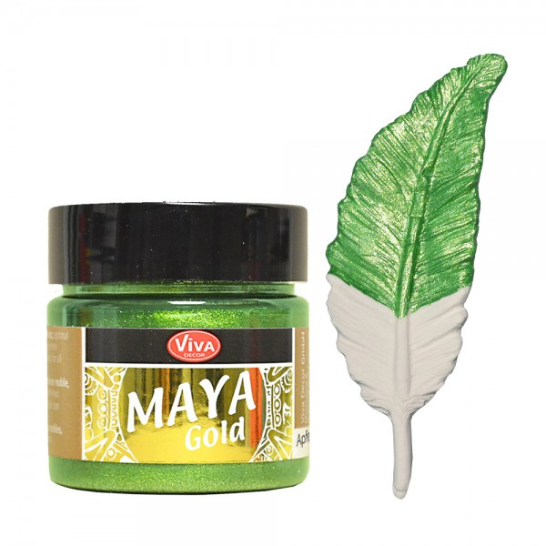 Viva Decor Maya-Gold, 45 ml, Apfelgrün