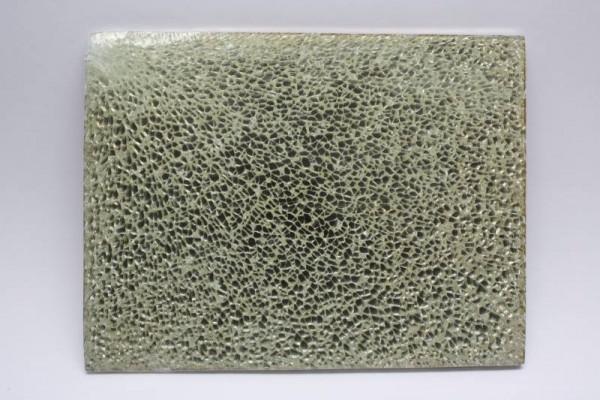 Crackle Mosaik-Platte, 15 x 20 cm, 4 mm, creme glänzend