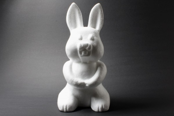 Styropor-Hase, 23 cm