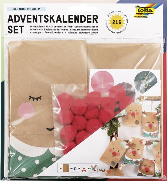 """Adventskalender-Set """"Red Nose Reindeer"""", 216 Teile"""