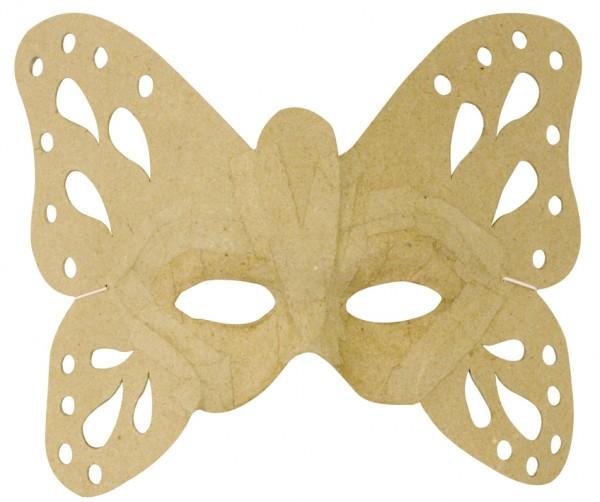 decopatch Maske, aus Pappmaché, 23,5 x 19,5 cm