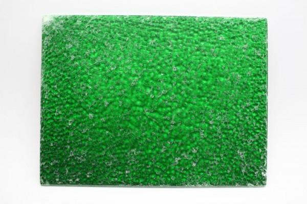 Crackle Mosaik-Platte, 15 x 20 cm, 4 mm, grün
