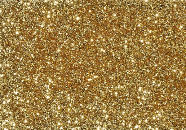 Glitter grob, 110 g, gold